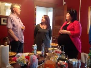 Gerard Doran, Debbie (Kate) Robbins, and Melanie Martin chat about their writing experiences