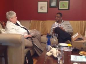Chris Rolton talks with Atanu Sakir about their writing